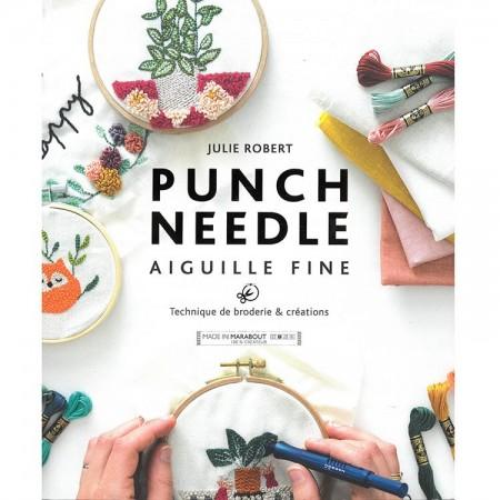Livre de broderie : Punch needle aiguille fine