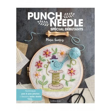 Livre de broderie : Punch needle spécial débutant
