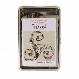 Kit de broderie : Coffret Glazig - Triskel
