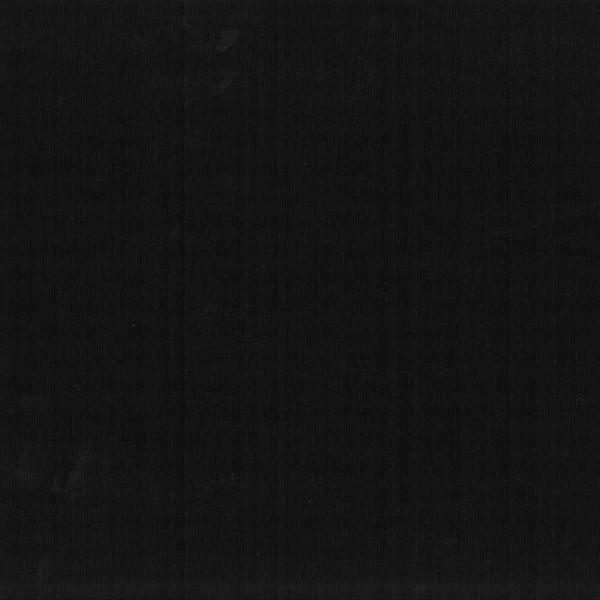 Tissu piqué de coton uni - Noir