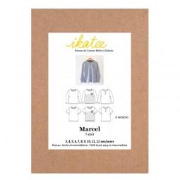 Patron Ikatee - Tee-shirt Marcel 3 ans - 12 ans