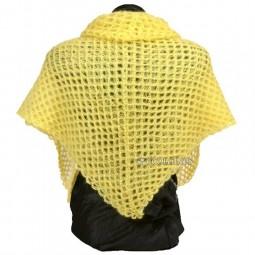 Kit de crochet : Châle carré au crochet Mohair luxe