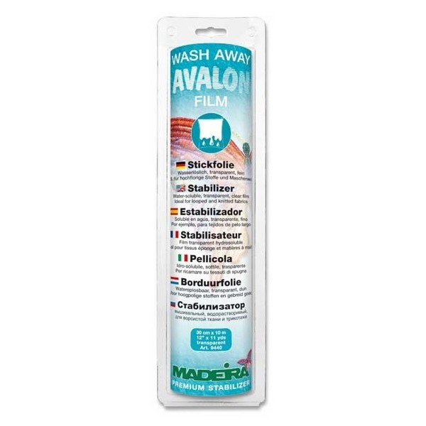 Avalon film hydrosoluble Madeira