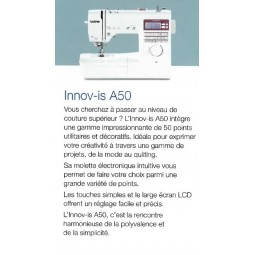 Brother Innovis A50