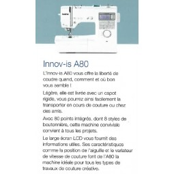 Brother Innovis A80