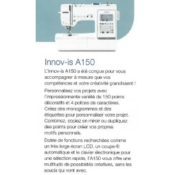 Brother Innovis A150