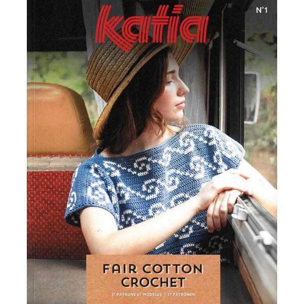 Catalogue Katia -Fair cotton crochet