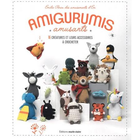 Livre : Les amigurumis d'Emilie, amigurumis amusants