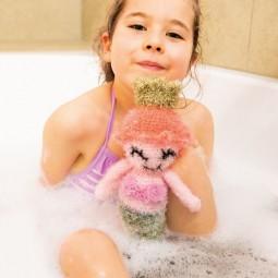 Livre Créative Bubble - c'est l'heure du bain