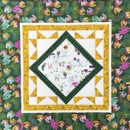 Kit de patchwork : Plaid Bijou