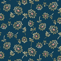 Tissu Edyta Sitar - Super Bloom - Dandelion dusk