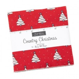 Charm pack - Country christmas