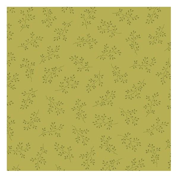 Tissu Edyta Sitar - Olive Branch - Citron