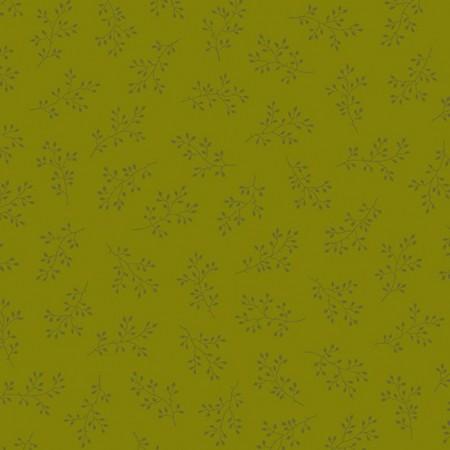 Tissu Edyta Sitar - Olive Branch - Olive
