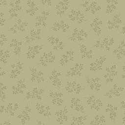 Tissu Edyta Sitar - Olive Branch - Tan