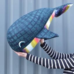 Kit de patchwork : Madeleine la Baleine