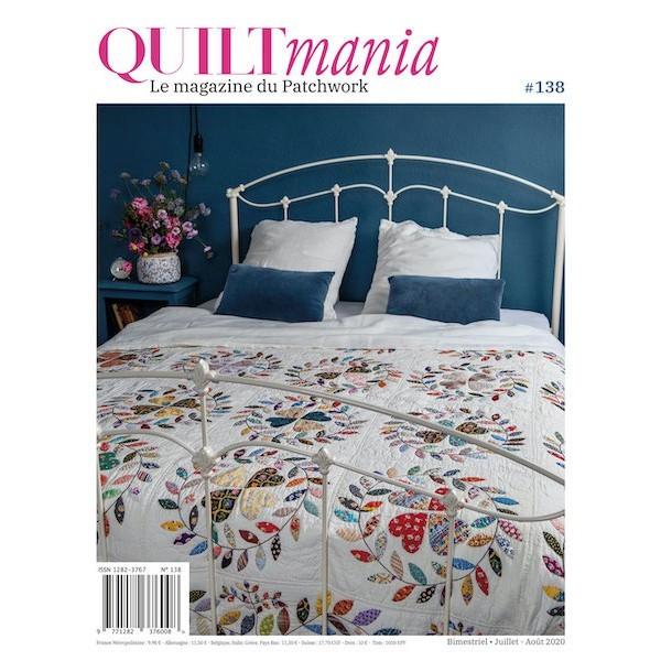 Magazine : Quiltmania n°135 Janvier-Février 2020
