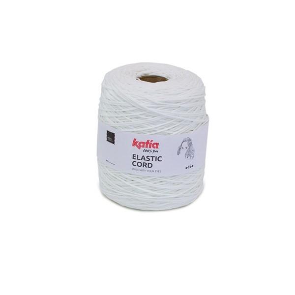 Élastique - Elastic Cord Katia blanche