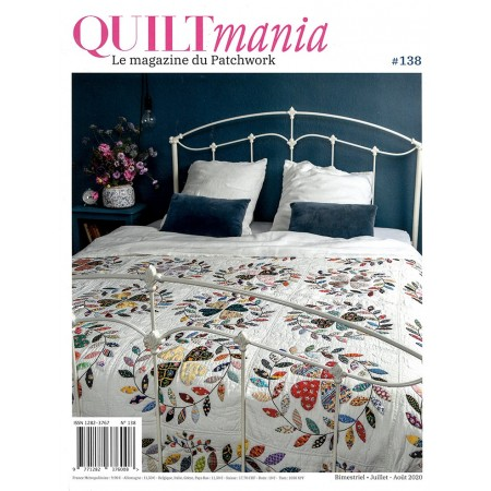 Magazine : Quiltmania n°138 Juillet/août 2020