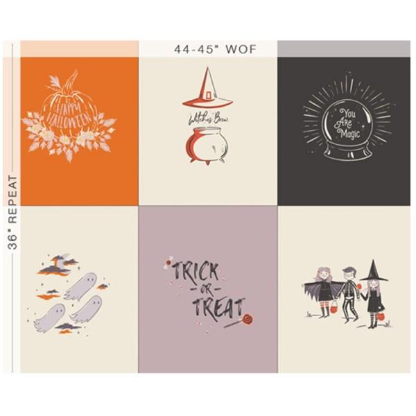 Art Gallery Fabrics - Spooky N' sweet - Panneau 90 x 110 cm You are magic