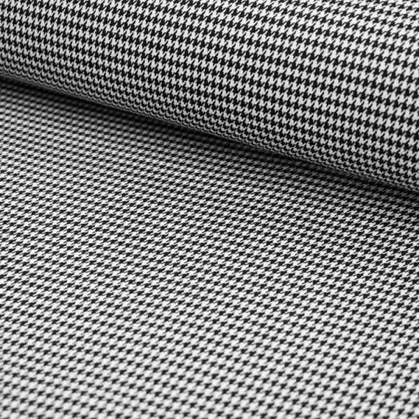Tissu Polyester Viscose - Pied de poule