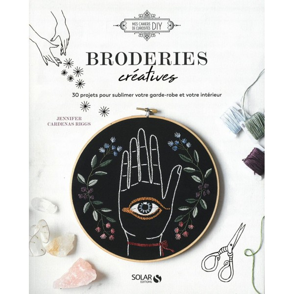 Livre : Broderies créatives