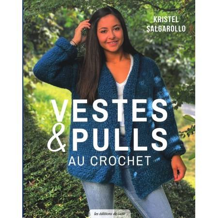 Livre : Vestes et pulls au crochet