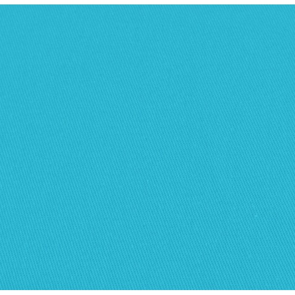 Tissu gabardine - Sergé turquoise