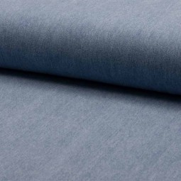 Tissu denim - Blue light enzyme washed