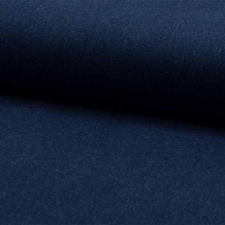 Tissu denim washed - Blue light enzyme