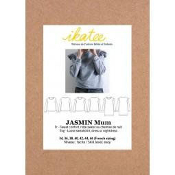 Patron Ikatee - Sweat Jasmin mum T34 à 46