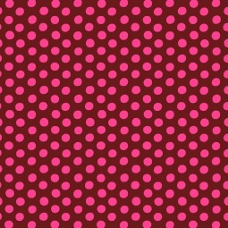 Tissu Kaffe Fassett - Spot merlot