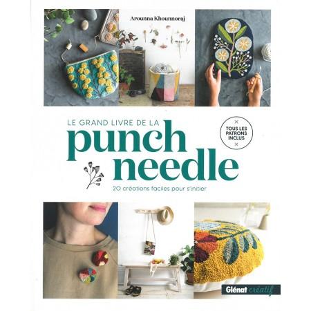 Livre : Le grand livre de la punch needle