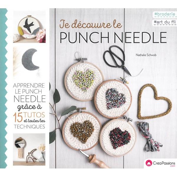 Livre : Je découvre le punch needle