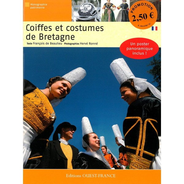 Livre : Coiffes et costumes de Bretagne