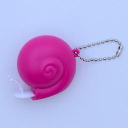 Centimètre escargot rose 100 cm