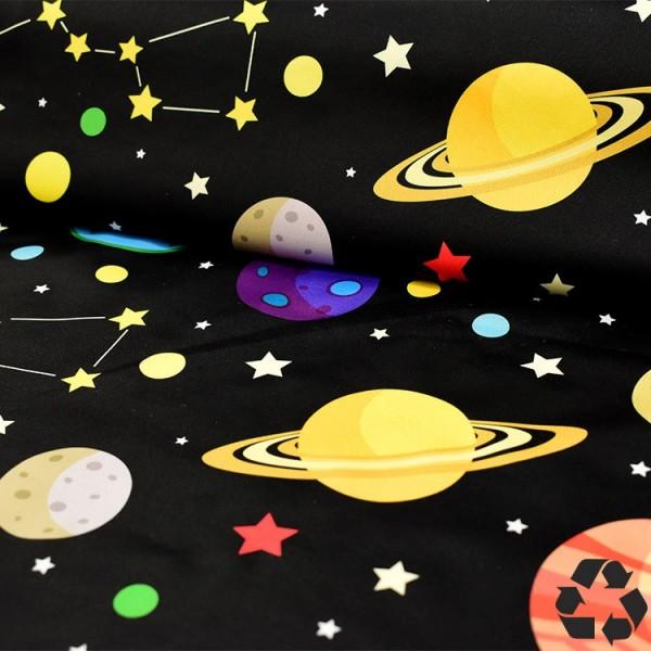 Tissu PUL La Panda Love Fabrics - Space