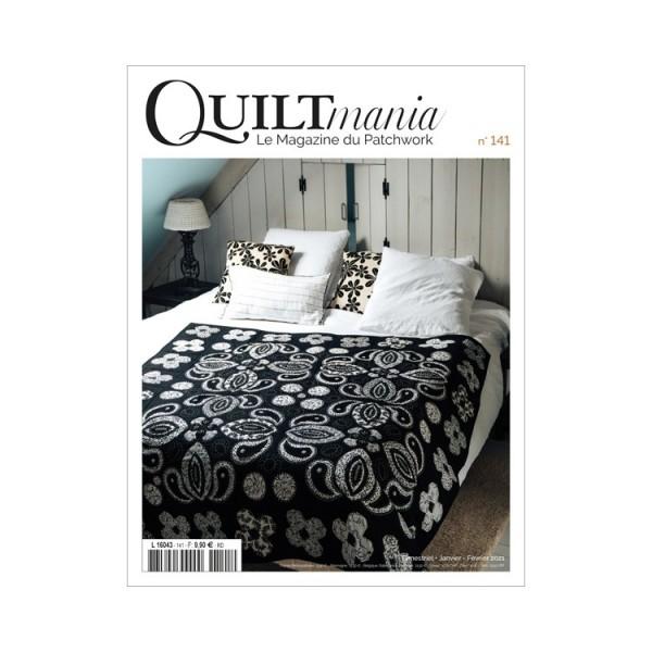 Magazine : Quiltmania n°141 Janvier-Février 2021