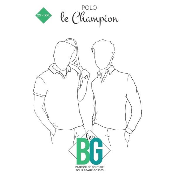 Patron Les BG - Polo - Le Champion