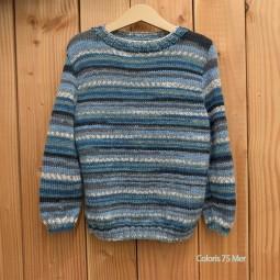 Kit de tricot - Pull Concarneau