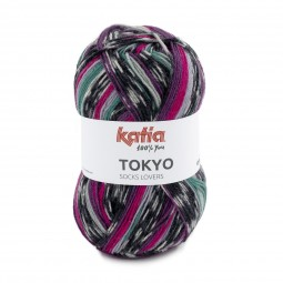 Tokyo socks lovers de Katia