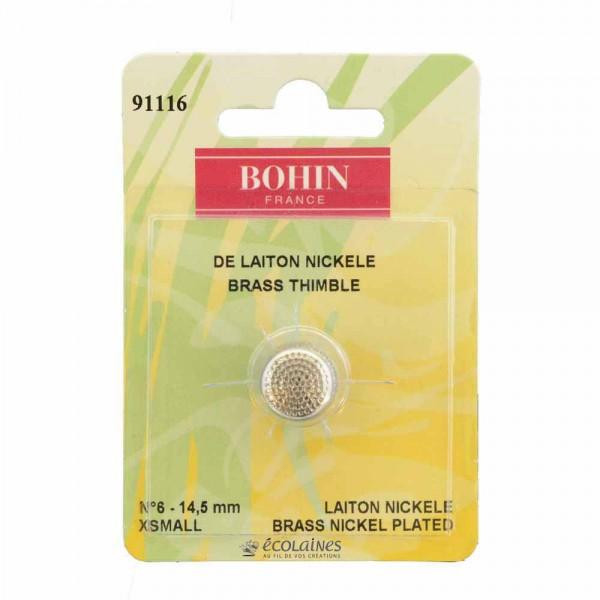 Dé à coudre Bohin 14,5mm