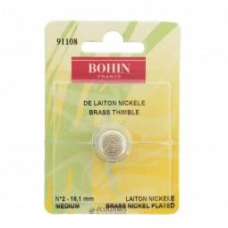 Dé à coudre Bohin 16,1mm