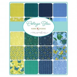 Charm pack - Cottage bleu by Robin Pickens