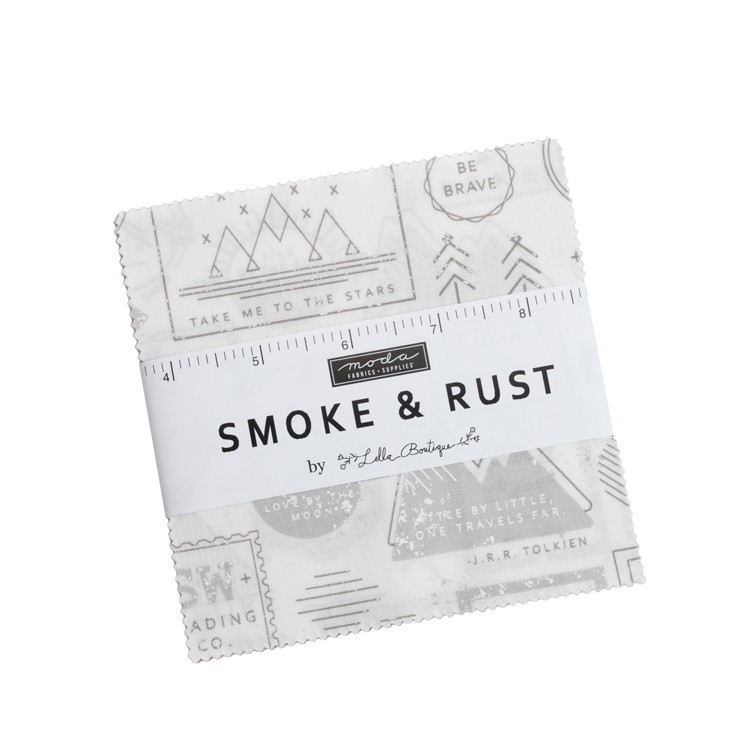 Charm pack - Smoke & Rust by Lella boutique