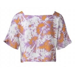 Patron Burda 6117 - Crop top, robe fluide