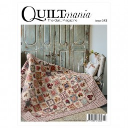 Magazine Quilmania n°143 - Mai/juin 2021
