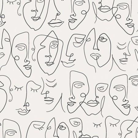 Art Gallery Fabrics - Luna & Laurel - Perfectly imperfect