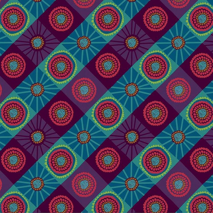 Tissu fantaisie - Cosmos Mountain designé par Anna Maria Homer