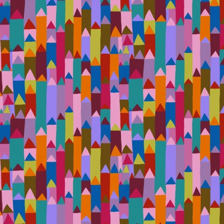 Tissu fantaisie - Good point in sassy by monika Fosberg pour Anna Maria Homer